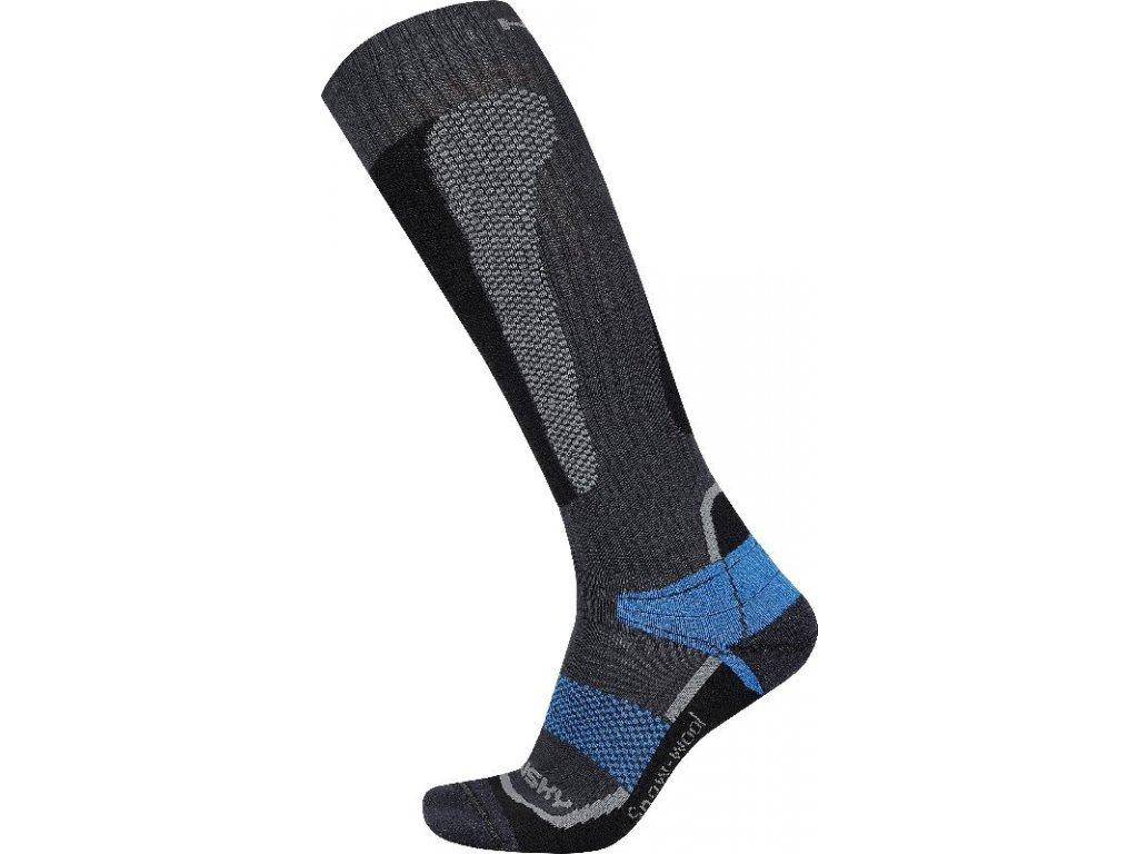 Ponožky   Snow Wool modrá