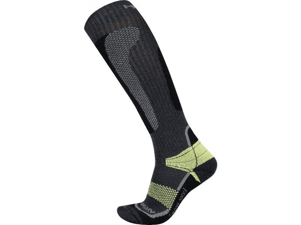 Ponožky   Snow Wool zelená
