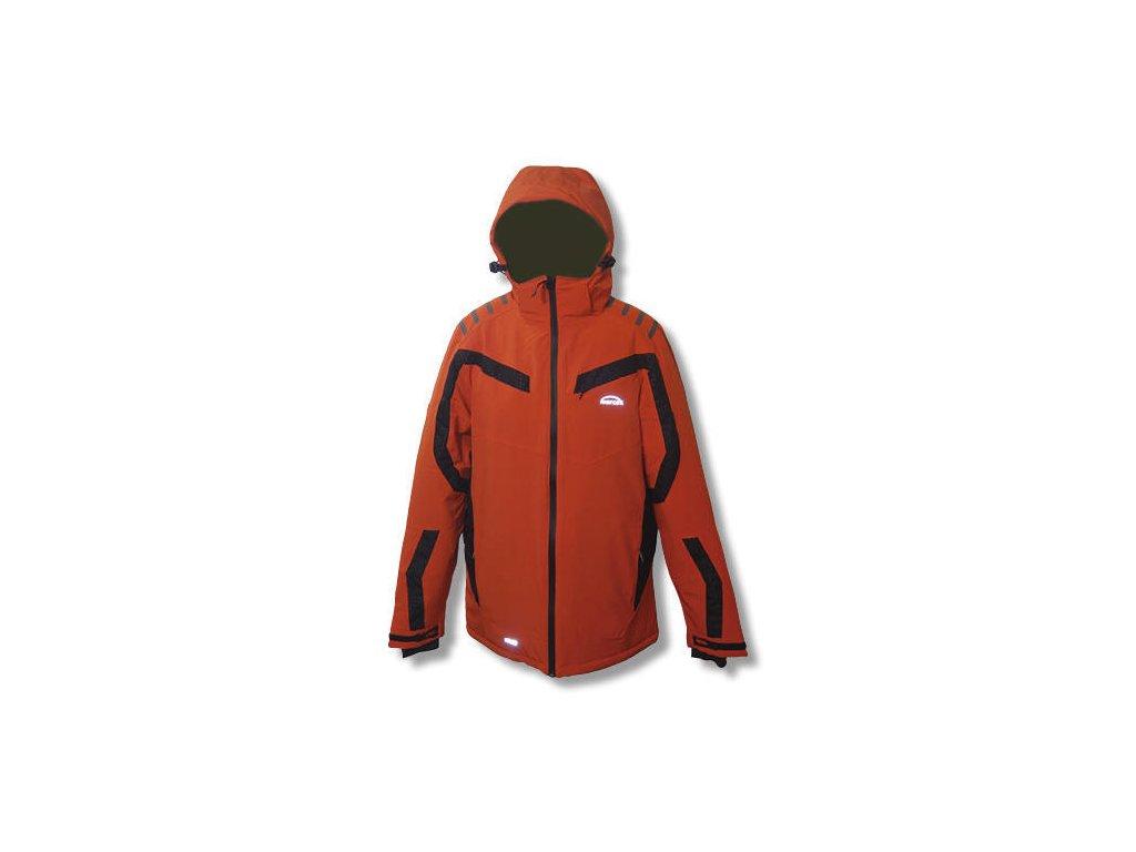 Mercox bunda zimní Halti red /grey