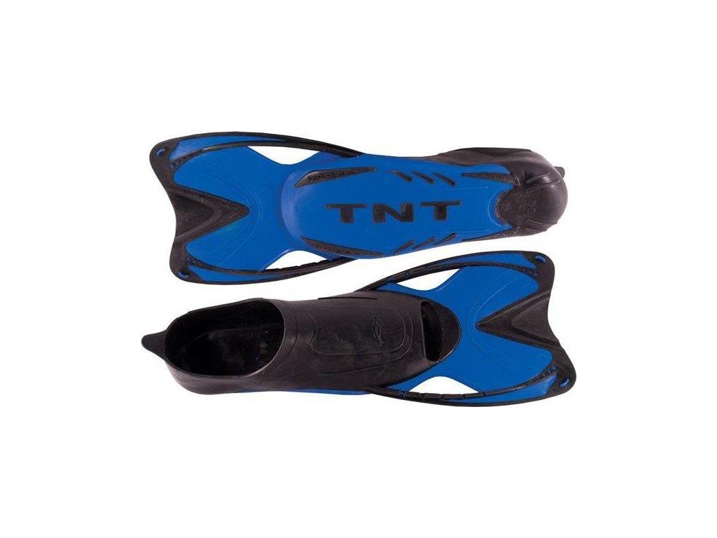 Ploutve plavecké TNT SHORT 37-38 Velikost 37/38 - Modré