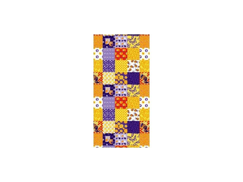Multifunkční šátek Mercox patchwork