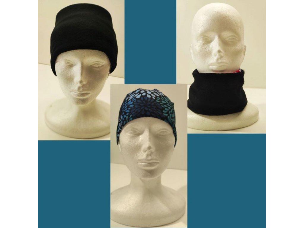 Multifunkční šátek Mercox warm orient black
