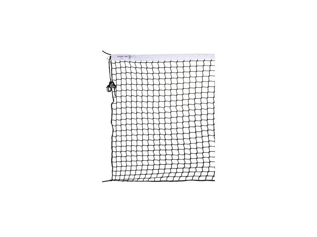 Tenis Standart jednoduchá tenisová síť lanko