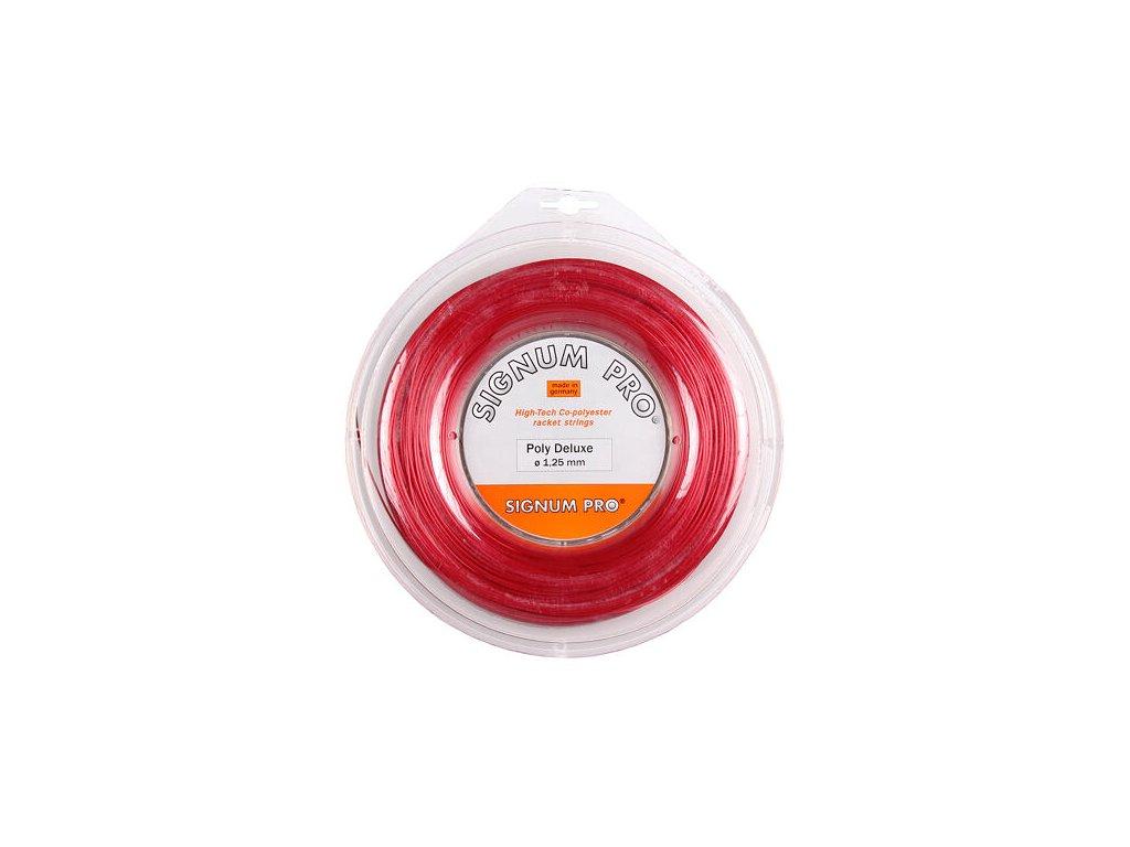 Poly Deluxe Red tenisový výplet 200 m