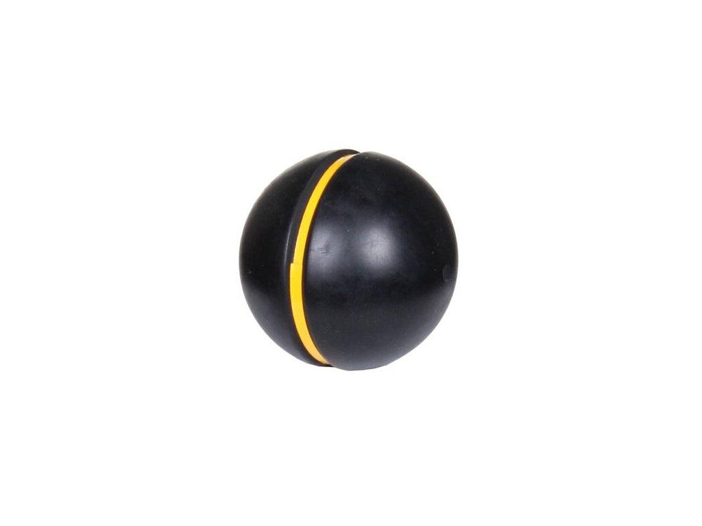kriketový míček se žlutým proužkem, 150 g