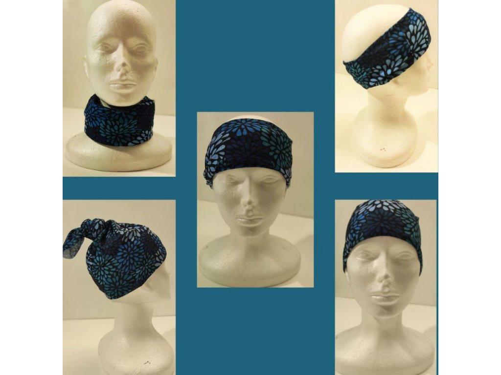 Multifunkční šátek Mercox strings colours