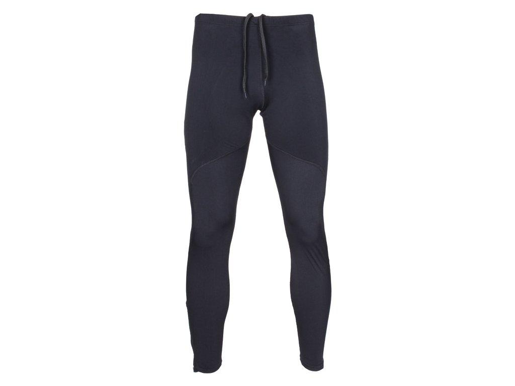 RP-1 běžecké elastické kalhoty černá velikost oblečení S