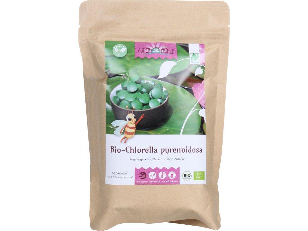 řasa Chlorella 500g, 2000 tablet bio produkt z Německa