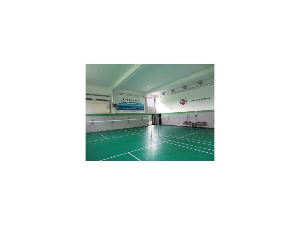 Trisurface badmintonový kurt, koberec