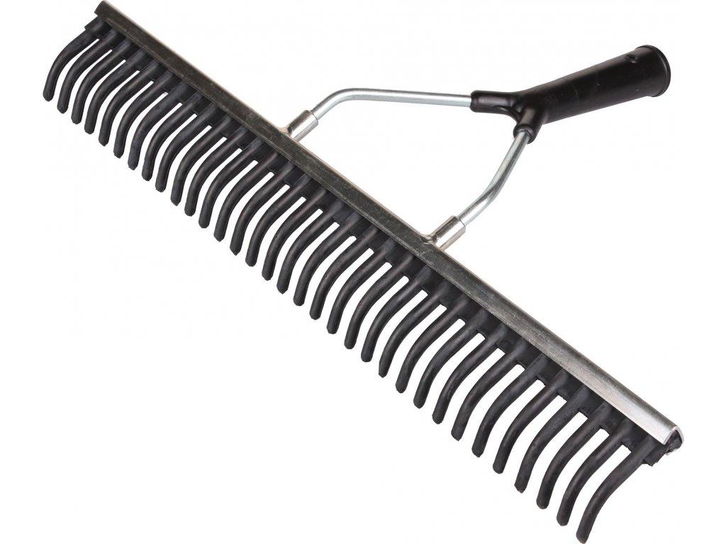 Gumové hrábě  výška/ šířka 80 cm