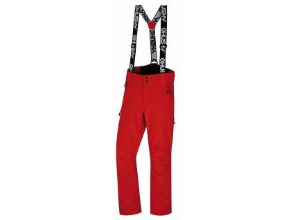 Pánské lyžařské kalhoty  Galti M červená