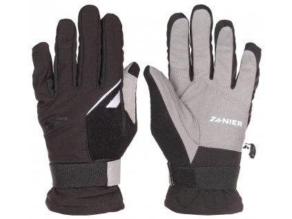 Loipe softshellové rukavice černá velikost oblečení č. 6,5