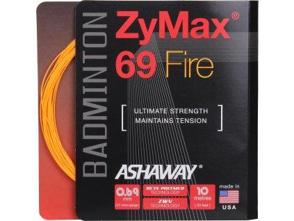 ZyMax 69 Fire badmintonový výplet, 10 m