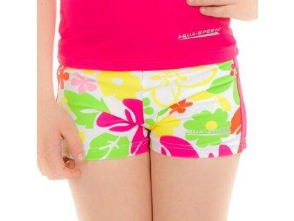 Flower plavecké šortky