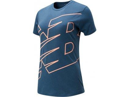 tričko new balance WT01158SNB