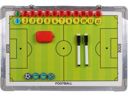 Fotbal 40 magnetická trenérská tabule 45 x 30 cm, závěsná