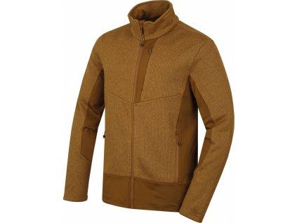 Pánský fleecový svetr   Alan M tm.hořčicová
