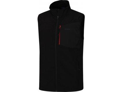 Pánská softshellová vesta   Salien M černá
