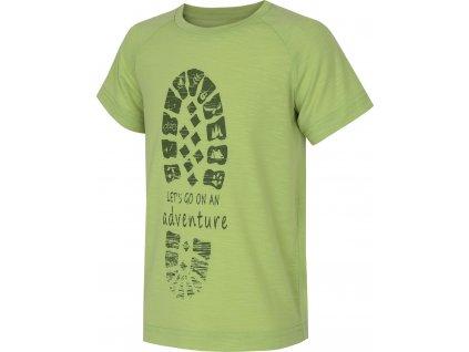 Dětské triko   Zingl Kids sv. zelená