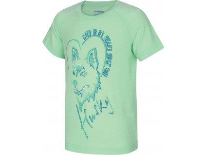 Dětské triko   Zingl Kids sv. mátová