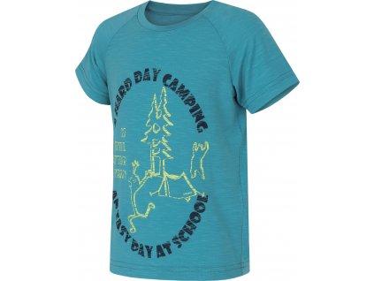 Dětské triko   Zingl Kids tl. tyrkysová