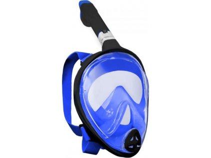 Potápěcí celoobličejová maska/brýle se šnorchlem FREEBREATH Velikost L/XL- Bez Adaptéru GoPro