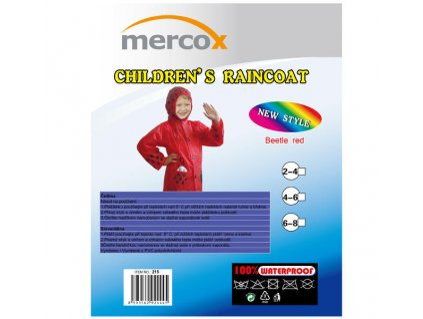 Dětská pláštěnka Mercox Beetle