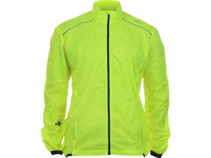 CJ-81 cyklistická bunda žlutá reflexní velikost oblečení S