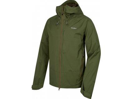 Pánská hardshellová bunda   Nicker M tm.zelená