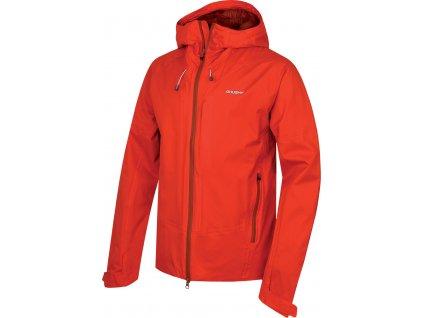 Pánská hardshellová bunda   Nicker M červená