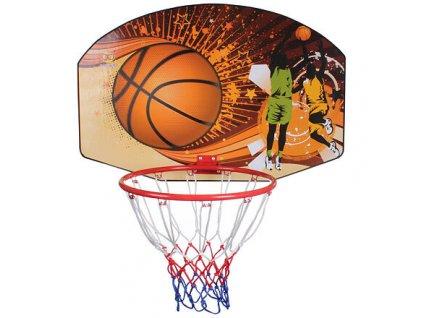 Basketbalová deska 90 x 60 cm, s košem