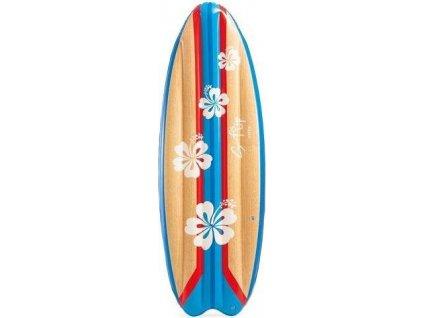 Nafukovací surf do vody Intex 58152 178 x 69 cm Květiny 58152KVET