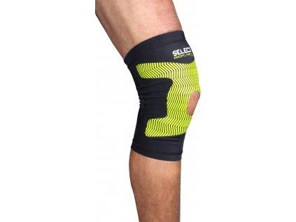 Compression Knee kompresní návlek na koleno černá velikost oblečení S