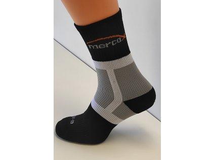 Mercox Tenisové ponožky black/grey