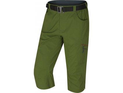 Pánské 3/4 kalhoty Klery M tm. zelená