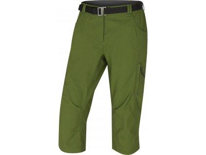 Dámské 3/4 kalhoty Klery L tm. zelená