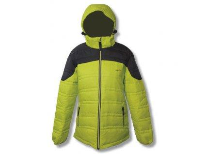 Mercox bunda pánská zimní Mont Blanc yellow/charocal