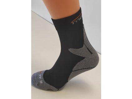 Mercox Daily ponožky black