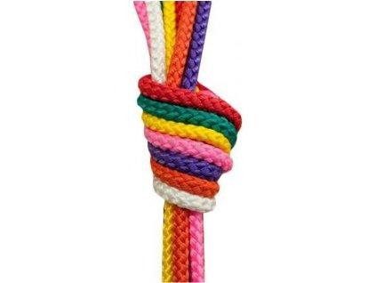 Gymnastické švihadlo 2,8 m SEDCO mix barev  5064OR