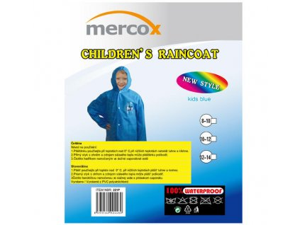 Dětská pláštěnka Mercox modrá