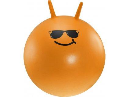 Dětský skákací míč LIFEFIT JUMPING BALL 55 cm, oranžový