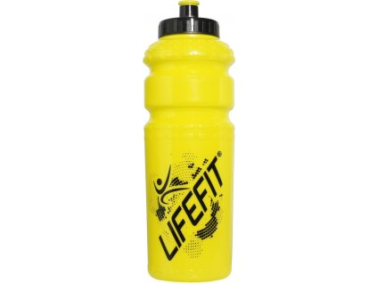 Cyklo láhev LIFEFIT 9971, 800ml, žlutá