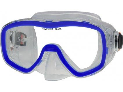 Potápěčská maska CALTER SENIOR 141P, modrá