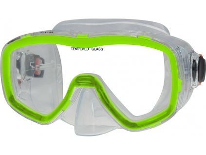Potápěčská maska CALTER SENIOR 141P, zelená