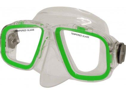 Potápěčská maska CALTER SENIOR 229P, zelená