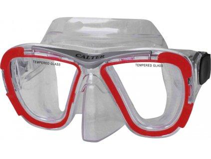 Potápěčská maska CALTER SENIOR 238P, červená