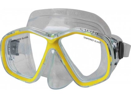 Potápěčská maska CALTER JUNIOR 276P, žlutá