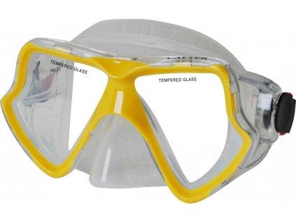 Potápěčská maska CALTER SENIOR 282S, žlutá