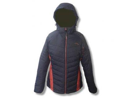 Mercox bunda zimní Marmolada drk.grey/purple