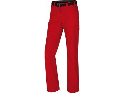 Dámské outdoor kalhoty Kahula L jemná červená